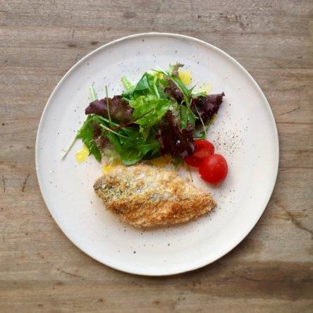 鮭のパン粉焼き