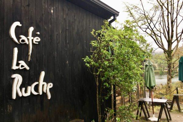湯布院 CAFE LA RUCHE さんにてオリーブオイルの販売が始まりました。