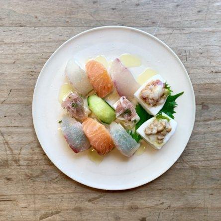 お寿司風長芋