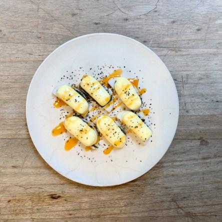 蒲鉾のチーズ焼き