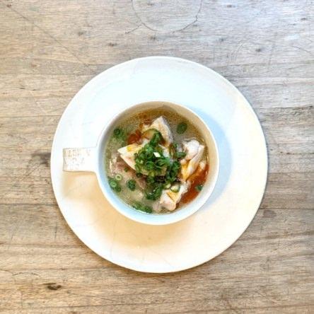 鶏肉の味噌スープ煮
